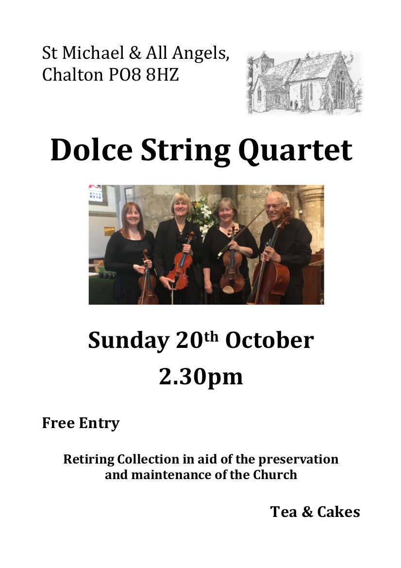 Dolce String Quartet at St Michael's - XX Miscellaneous Performers XX