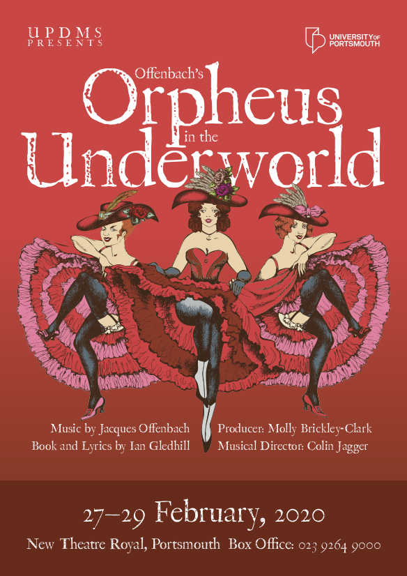 The University of Portsmouth Dramatic and Musical Society: Offenbach's Orpheus in the Underworld - University of Portsmouth Music Department