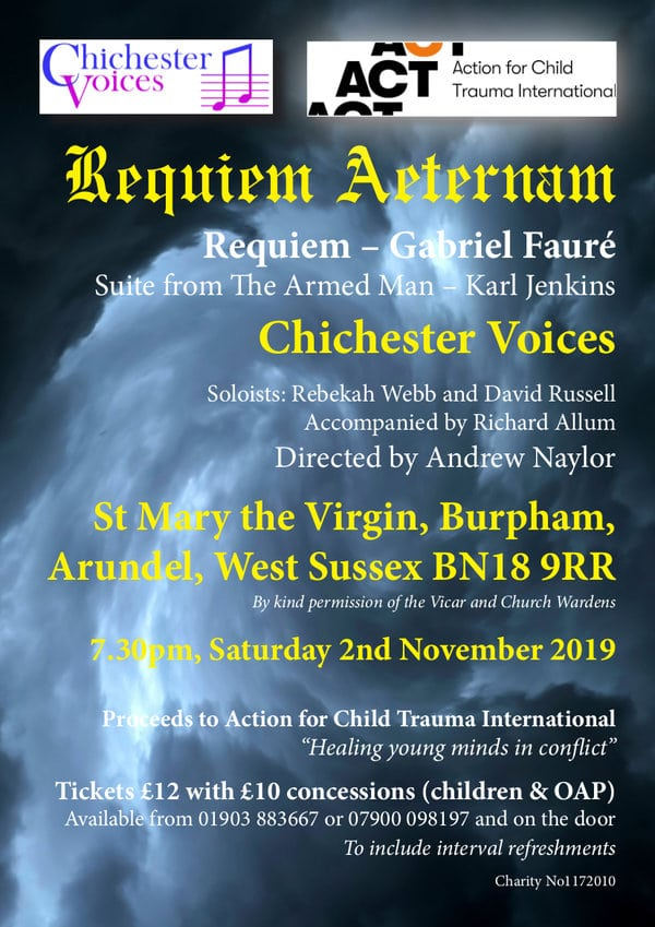"""Chichester Voices: """"Requiem Aeternam"""" - Chichester Voices"""