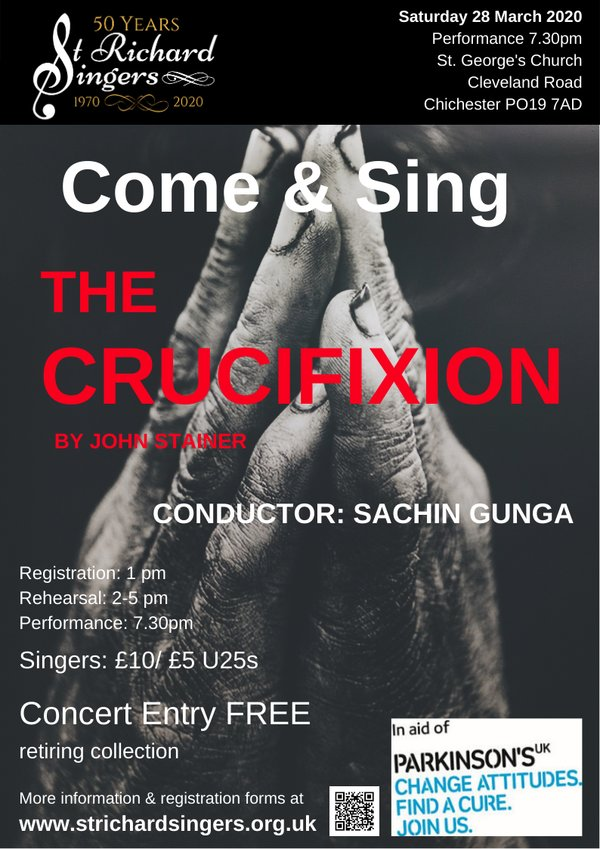 St Richard Singers: Come and Sing Stainer's Crucifixion - St Richard Singers