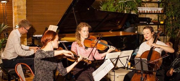 Lunchtime Concert: The Chagall Piano Quartet - Chichester Cathedral lunchtime concerts
