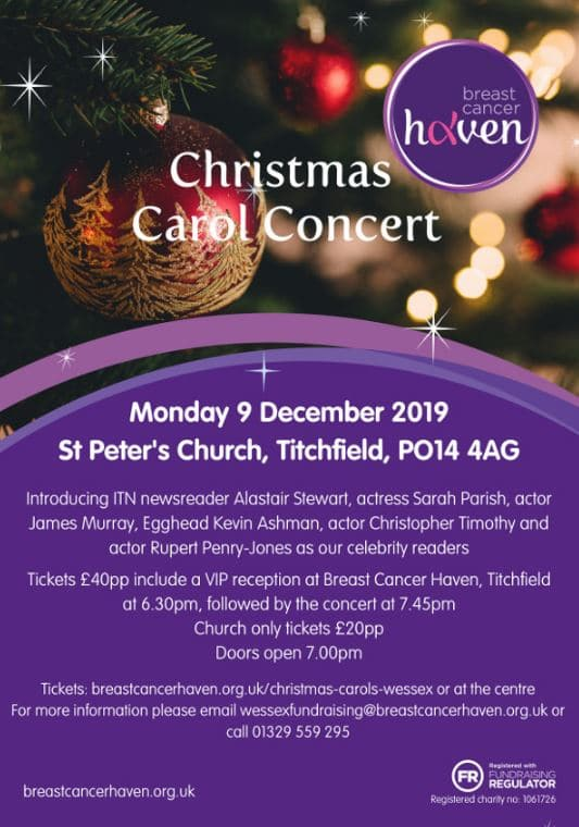 Hampshire Police Male Voice Choir: Christmas Carol Concert for Haven Breast Cancer - Hampshire Police Male Voice Choir