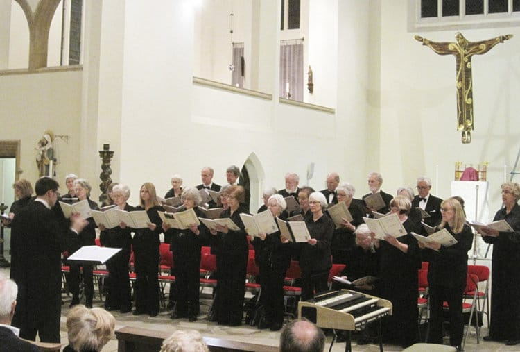 Portsmouth Festival Choir: Mozart's Solemn Vespers and A Selection of Songs for a Summer Evening - Portsmouth Festival Choir