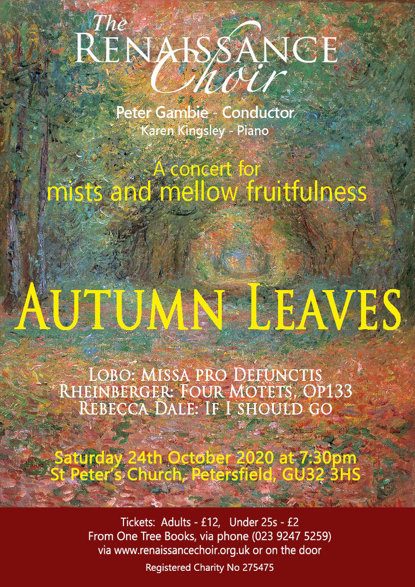 Rensaissance Choir: Autumn Leaves - Renaissance Choir