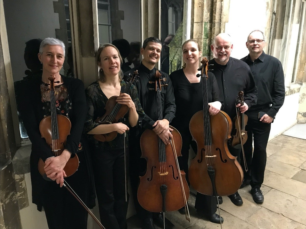 Chichester Music Society: The Ensemble Reza Sextet - Chichester Music Society