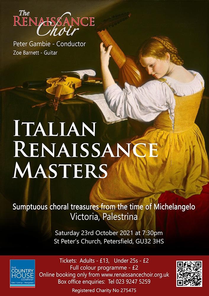 Renaissance Choir: Italian Renaissance Masters - Renaissance Choir