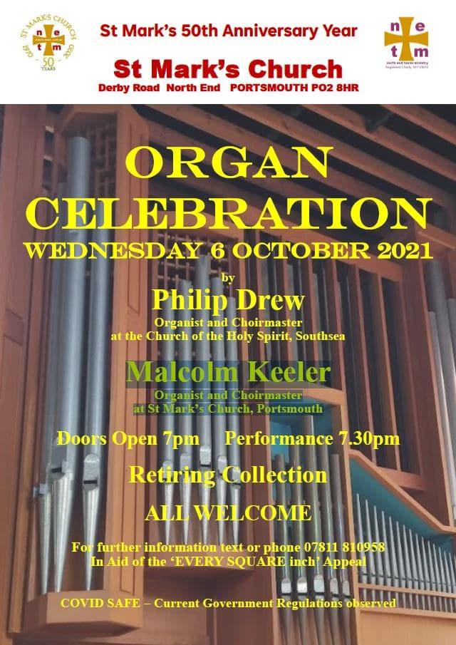 Organ celebration to mark the 50th anniversary of St Mark's, Portsea - XX Miscellaneous Performers XX