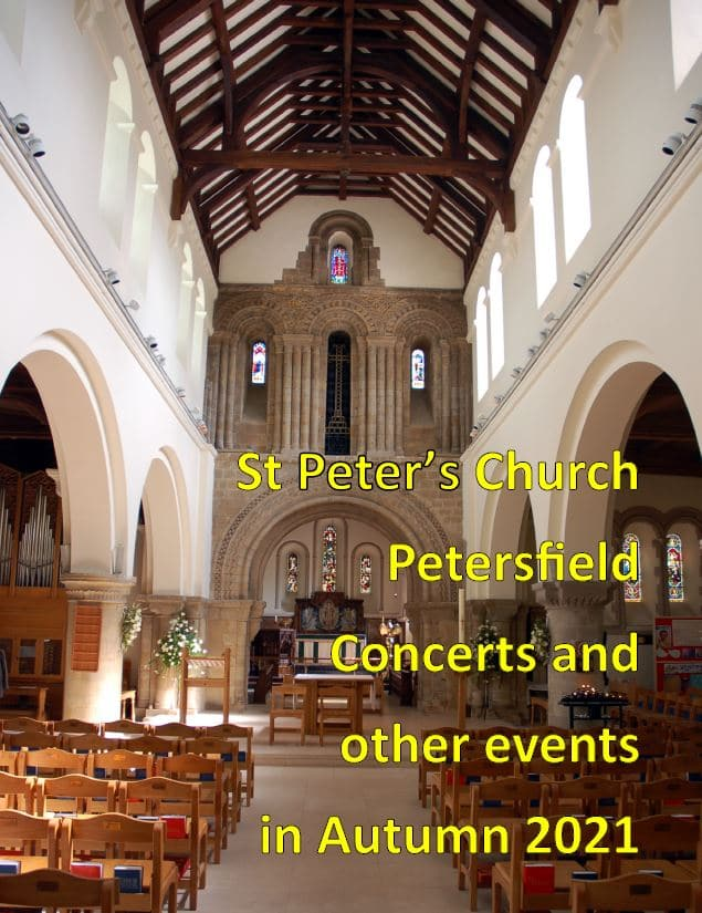 St Peter's Church Petersfield Music Events